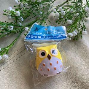 💕5 for $10! cute owl pencil sharpener NWT